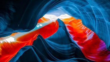美国佩吉市下羚羊峡谷+马蹄湾1日游(中文导游+拉斯维加斯出发)
