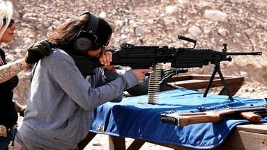 【刺激体验】拉斯维加斯MGV户外射击体验