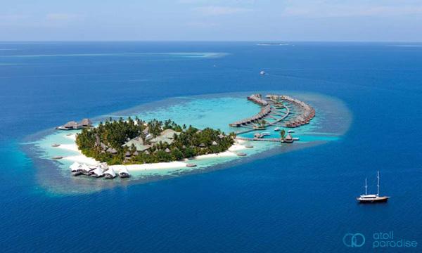 马尔代夫 w岛 宁静岛 w retreat