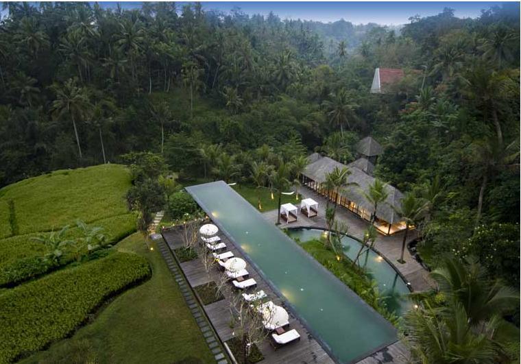 巴厘岛乌布泳池别墅komaneka