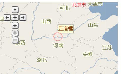 河南风景区地图全图展示