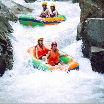 海南旅游 三亚旅游 海南五指山漂流 大峡谷漂流 刺激