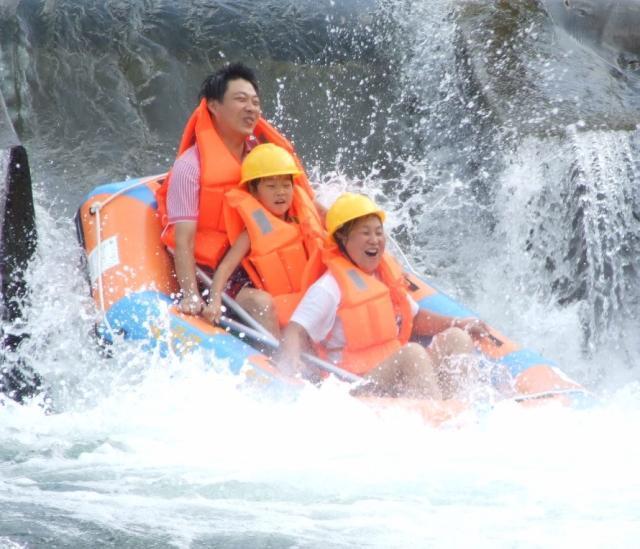 杭州淳安-千岛湖王子谷漂流-千岛湖皮筏漂流 含景区交通