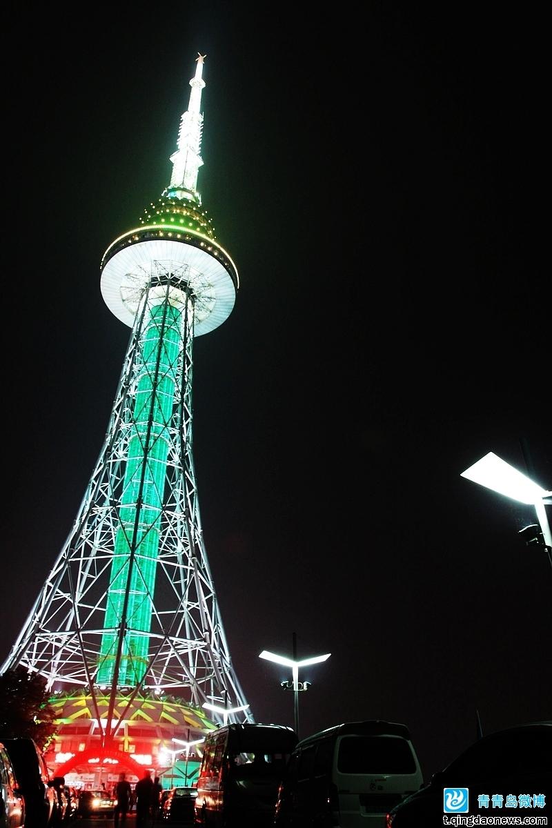 青岛旅游丨青岛奥运观光塔丨青岛电视塔丨开业促销丨独家二维码