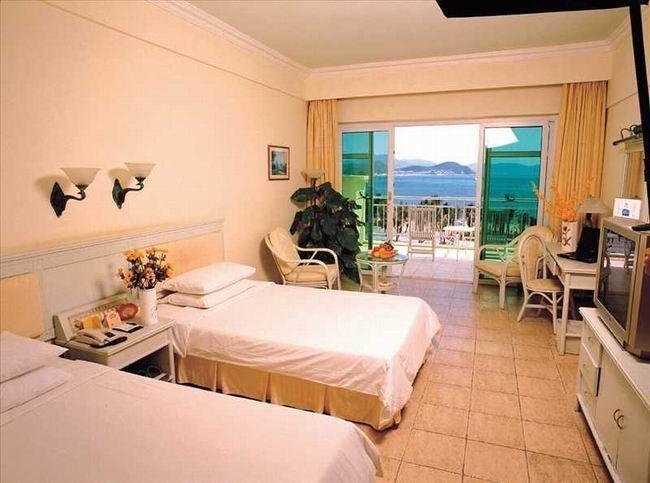 三亚酒店|大东海丽景海湾度假酒店|豪华海景双床房