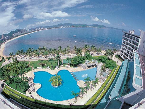 海南三亚大东海山海天大酒店(含双早)12年7月