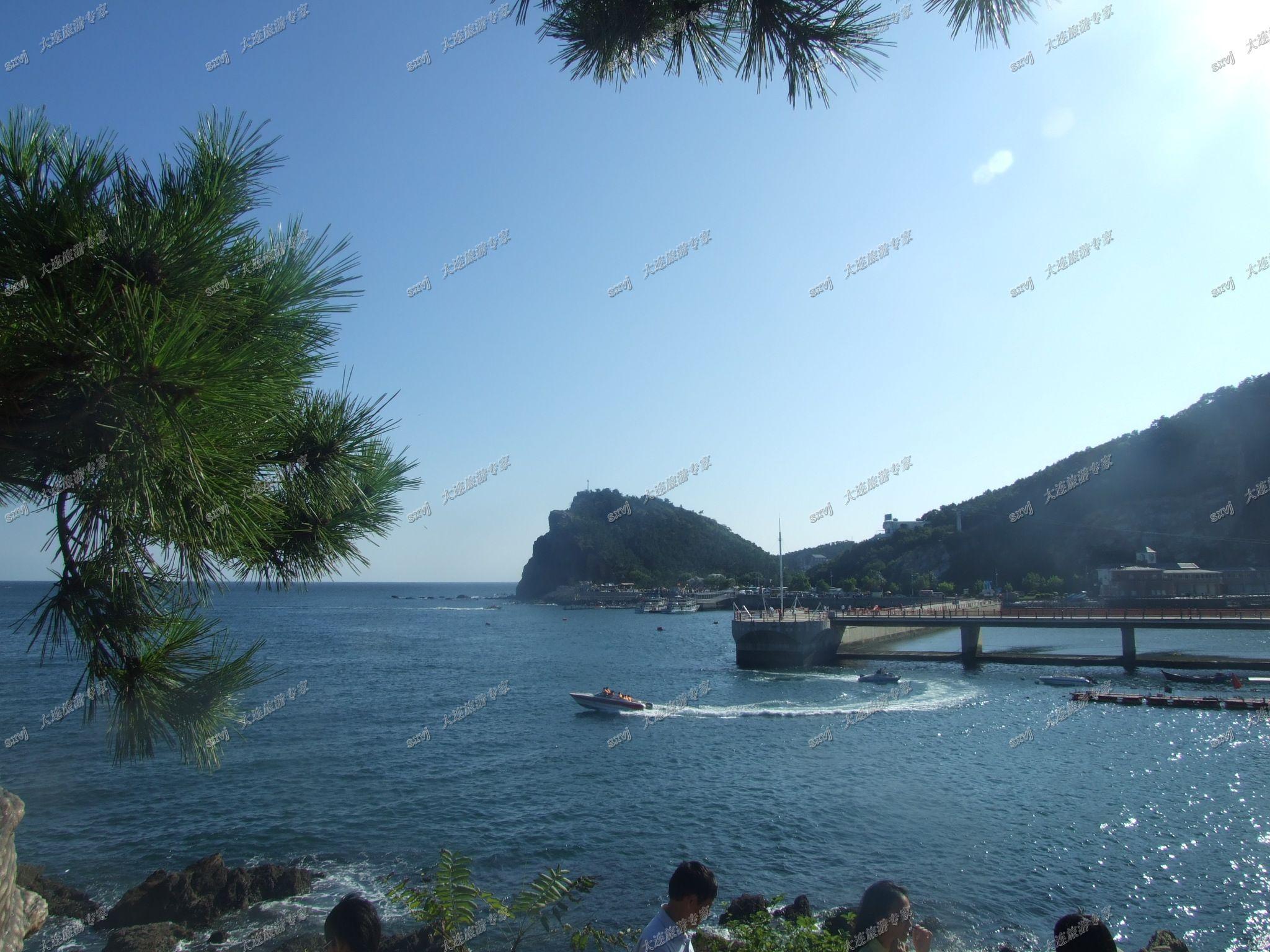 【光明旅游】老虎滩海洋公园 海上观光 海上看大连 棒槌岛快艇票