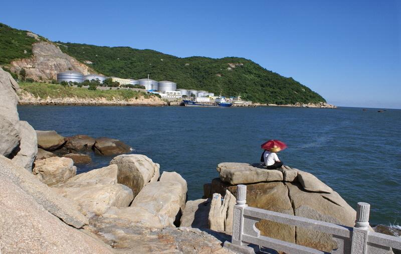珠海香洲港码头到至珠海东澳岛