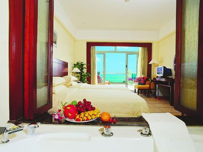 三亚酒店|大东海林达度假酒店|豪华海景双床房