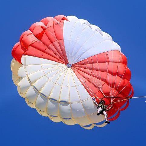 西岛拖伞/三亚海上娱乐项目/拖曳伞/水上拉伞套票/降落伞的感觉