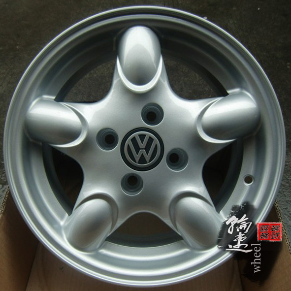 14寸原装款大众桑塔纳捷达铝合金轮毂出租车专用轮毂钢圈车轮