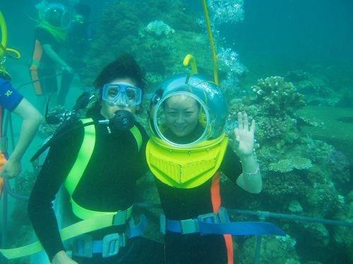 亚龙湾海底世界|三亚海底漫步|海南三亚水上娱乐项目