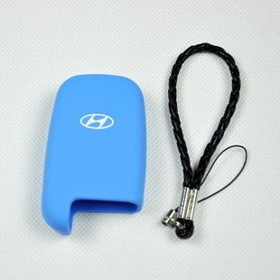 汽车硅胶钥匙包现代索纳塔ix35伊兰特途胜胜达领翔套