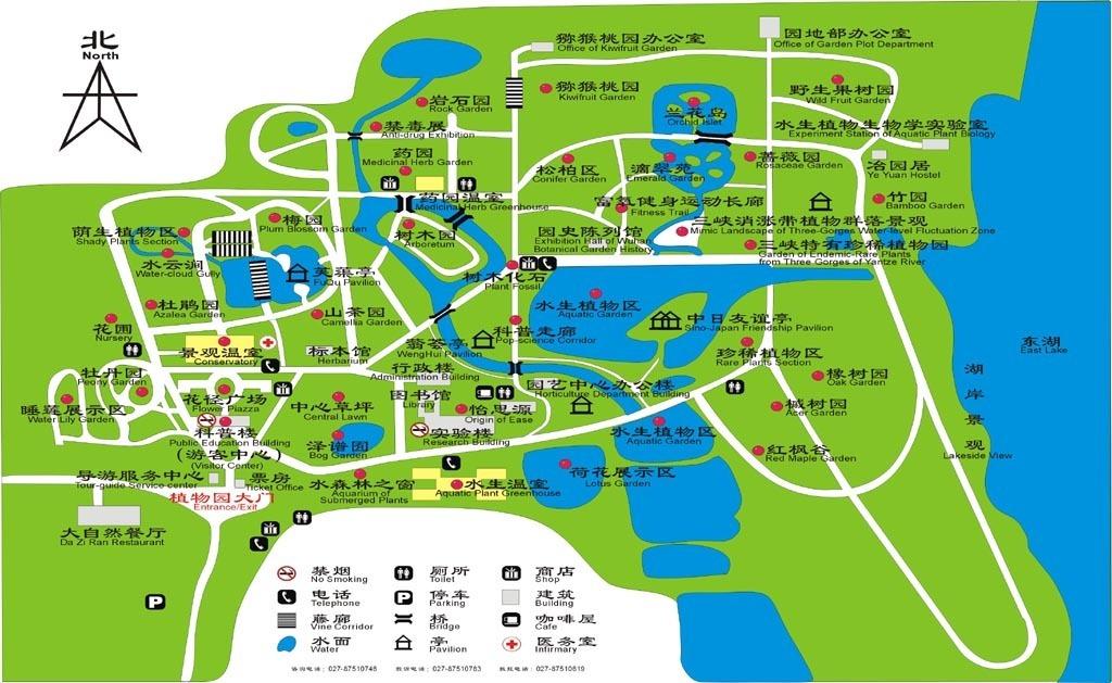 武汉武汉动物园 地图