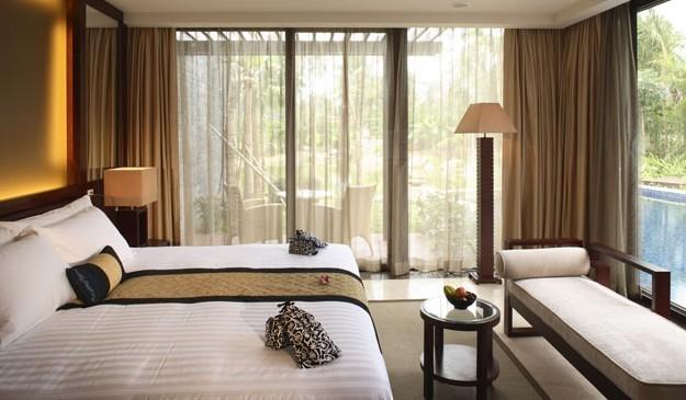 三亚酒店|大东海悦榕庄度假酒店|高级海景房