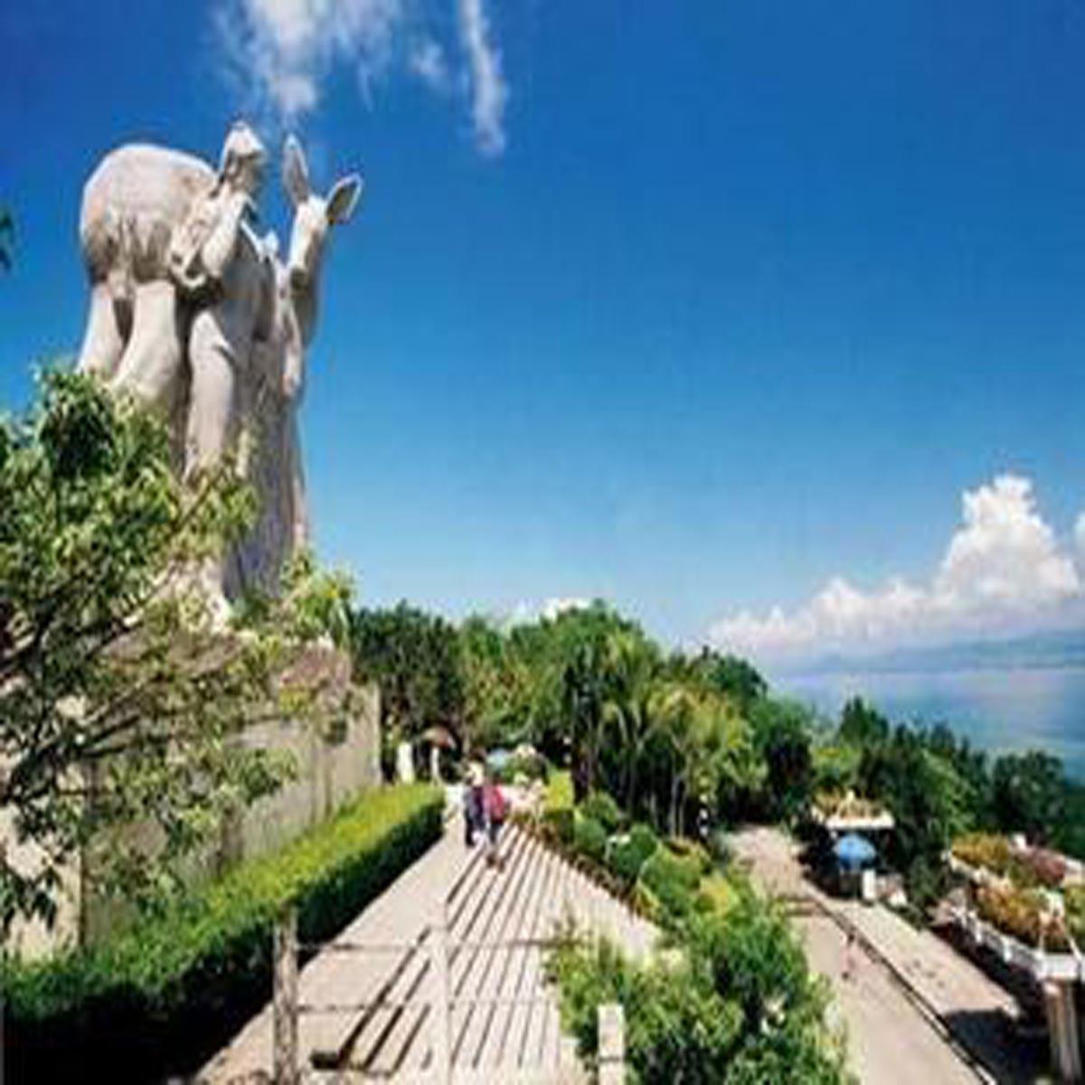 海南三亚旅游景点门票/三亚鹿回头山顶公园门票 含电瓶车
