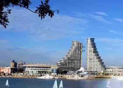 日照海边世纪之帆酒店 万平口风景区 #8303*特价房
