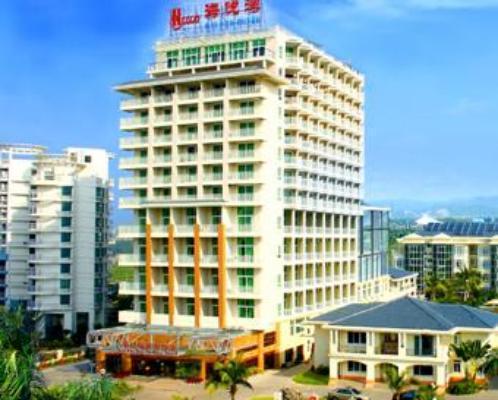三亚海悦湾度假酒店_三亚湾海边挂四星酒店