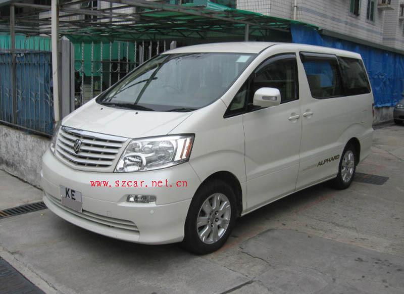 租车 香港九龙市区单接送 7座商务车高清图片