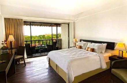 巴厘岛酒店 swiss-belhotel segara 瑞士塞格雷贝尔酒店 豪华房